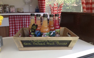 Refreshing organic fruit juices by Chegworth Valley