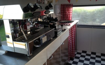 Fraccino coffee machine; creating superb coffee every time.