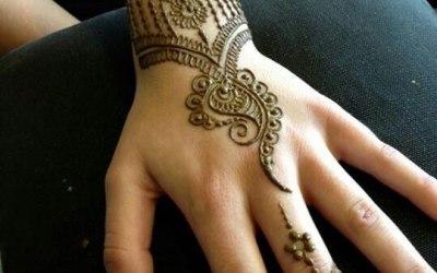 Henna tattoo by H 1
