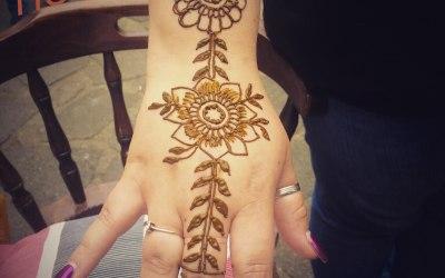 Henna tattoo by H 3