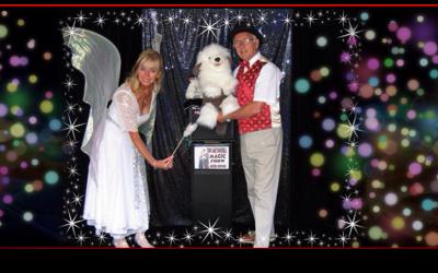 Tony and Tinkerbell magic show