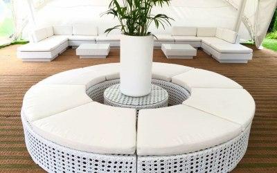 Circular centre seating and display