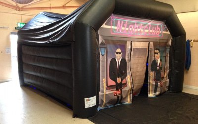 inflatable nightclub marquee