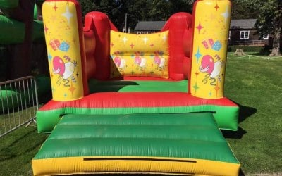 Funny Feet Bouncy Castle Hire