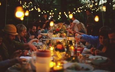 A Pizza Principles Garden Party Catering