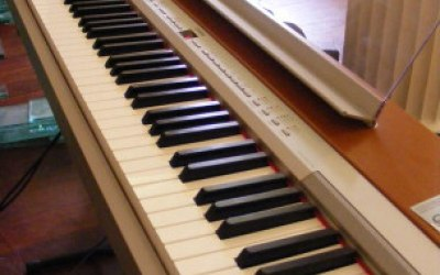 A normal digital piano can be provided free of charge