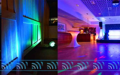 LED Lighting Hire - South Wales