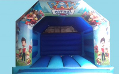 Paw Patrol Bouncy Castle Hire Liverpool & Cheshire