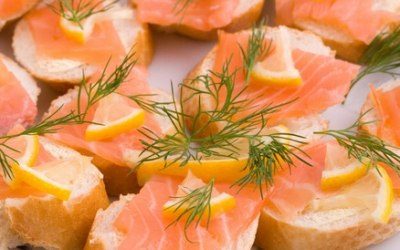 Event catering - canapés