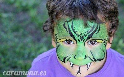 Monkey Face Facepaint  4