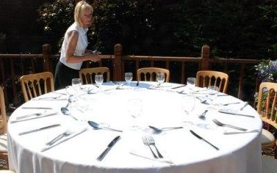Garden Party Setup by Chef Damian Wawrzyniak & Fine Art of Dining