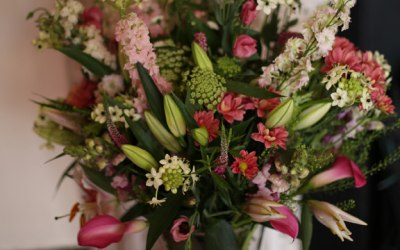 Vases for table centrepieces or entrance tables