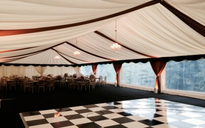 Frame Marquee interior Lewis Marquees