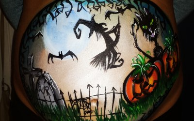 Halloween bump