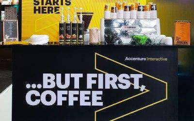 Expo coffee bar