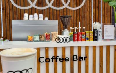 Coffee bar for Audi Launch
