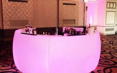 Pink Circular Bar