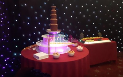 Our Amazing Chocolate Fountain