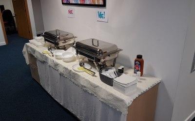 Hot Buffet Quiz and Chilli Con Crane Night