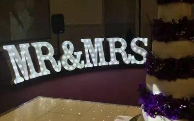 MR & MRS WEDDING OR ANNIVERSARY