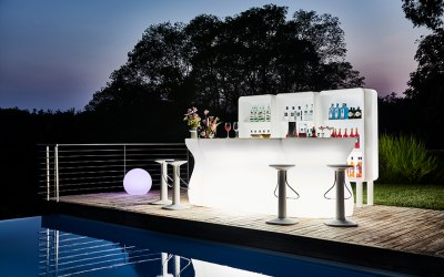 Time Out Space LED Bar and Display units