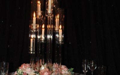 We stock over 30 diffrent types of centrepieces