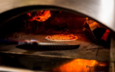 Wood fired pizzas!