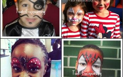 Tash Face Painting 4