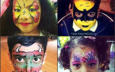 Tash Face Painting 3
