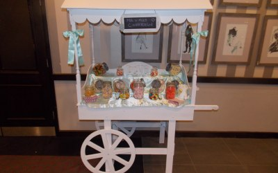 Sweet cart to hire