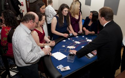 Hire blackjack table