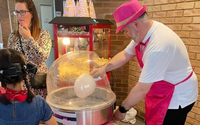 Candy Floss Event Hire UK 3