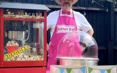 Candy Floss Event Hire UK 1