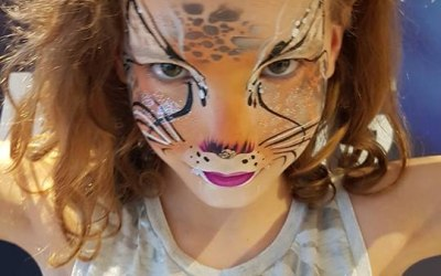 Face Painting Leopard By Rainbow Faces Ltd