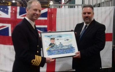 HMS Queen Elizabeth Captain