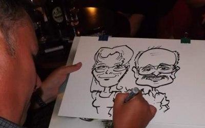 event caricature