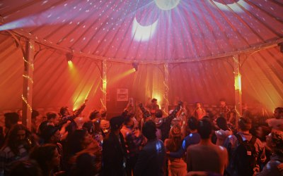 42ft Yurt, we provide a selection of equipment to suit your event.