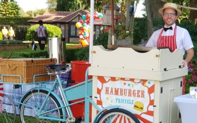 Hamburger tricycle service