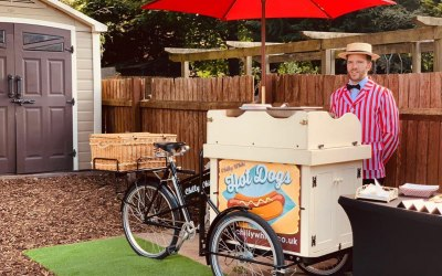 Hot dog tricycle service
