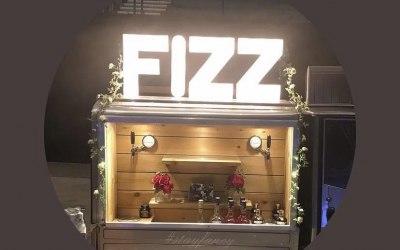 Fizz Bar all set up