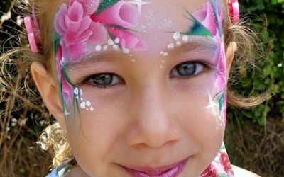 Rose Princess Face Paint