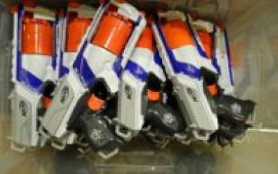 Lincolnshire Nerf Wars Party