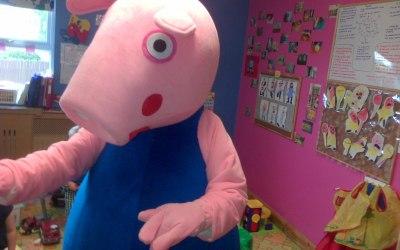 george pig mascot hire