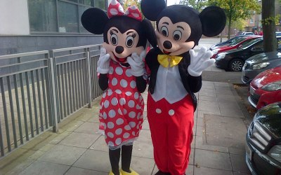 Mickey & Minnie Mouse Mascots Belfast