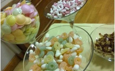 Sweet table, candy buffett