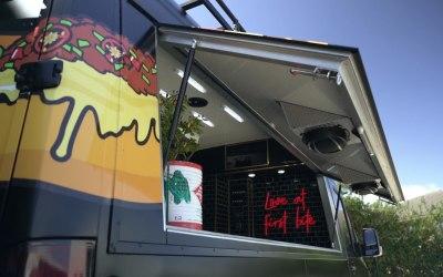 Hot Dog / Burger Food Van Hatch