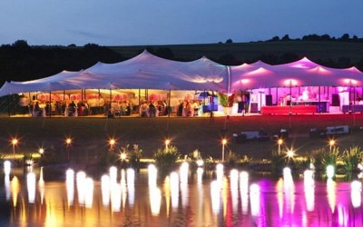 Beautiful Stretch Tent Events