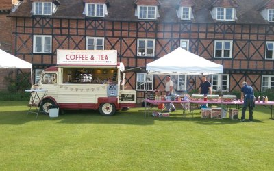 Vintage coffee van hire Oxfordshire