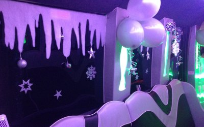 Party Bus Winter Wonderland