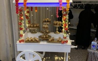 Indian street food - Gal Gappa cart